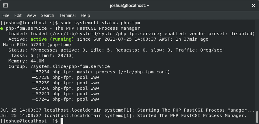 how to install lemp stack on rocky linux 8 with nginx, mariadb and PHP