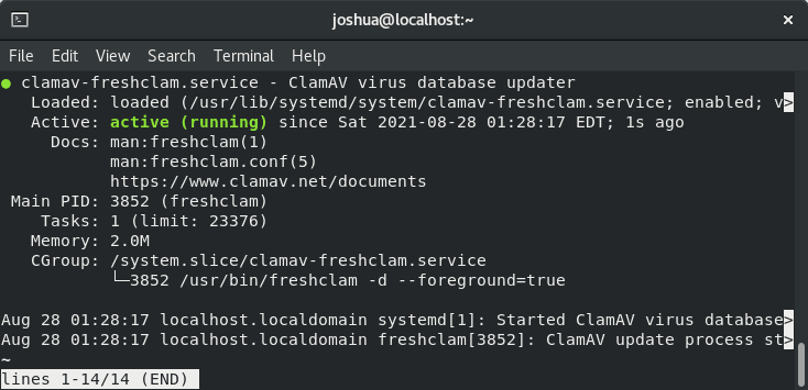 How to Install & Use ClamAV on Rocky Linux 8