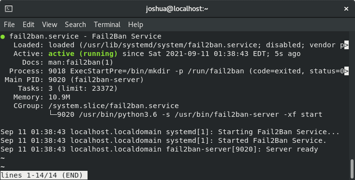 How to Install Fail2ban with Firewalld on AlmaLinux 8