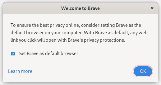 How to Install Brave Browser Stable, Beta, or Nightly on Fedora 34 / 35